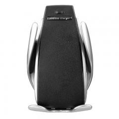 Suport telefon grila MRG L-S5, Smart Wireless, Fast Charge, Gri C385