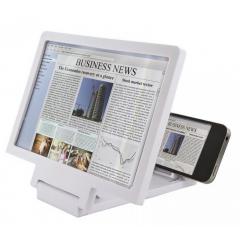 Amplificator imagine telefon MRG L-F1, Lupa, Pliabil, Alb C403