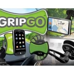 Suport auto pentru telefon, tableta, GPS  GripGo