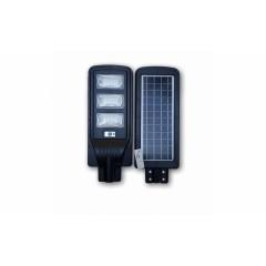 Lampa proiector cu panou solar 90W, senzor de lumina si telecomanda