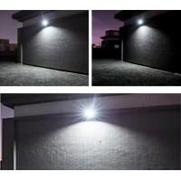 Proiector de lumina 60 W + panou solar si  telecomanda
