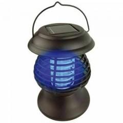 Lampa solara anti-insecte 2 in 1 cu lumina UV, Sistem de prindere Sol