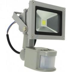 Proiector LED 10W cu senzor de miscare pentru exterior