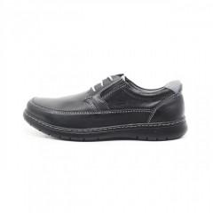 Pantofi foarte comozi, cu siret. Piele naturala 100%. Produsi in Romania - cod 176