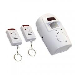 Sistem De Alarma Cu Senzor De Miscare Pentru Casa, Garaj Cu 2 Telecomenzi Wireless