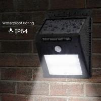 Lampa Solara Cu senzor Miscare Si Acumulator 30 Leduri