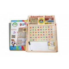 Tabla magnetica educativa pentru copii 40 x 40 cm