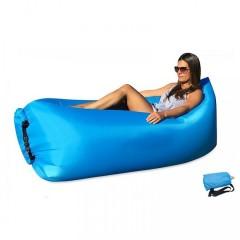 Saltea gonflabila, produs din material, Ripstop Nylon, ideala pentru iesirile in aer liber