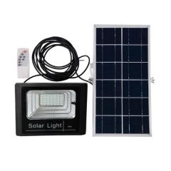 Proiector LED 25W cu panou solar si telecomanda