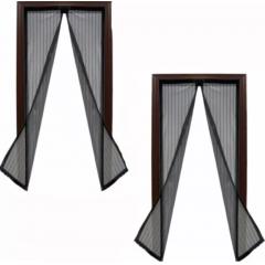 Set 2 perdele magnetice anti-insecte, dimensiune 190 x 100cm, 2 culori disponibile