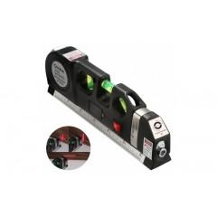 Nivela boloboc cu raza laser si ruleta incorporata