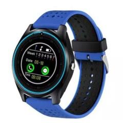Smartwatch SmartLife V9 , Step Counter ,Sleep monitor, Rest reminder, Camera, Bluetooth, Albastru