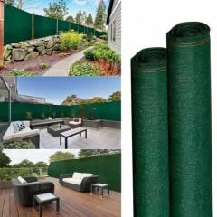 Plasa verde umbrire 1,7m x 50 m ,opaca cu grad de umbrire 95 % ideala pentru garduri, terase