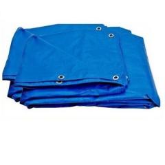 Prelata albastra impermeabila 3 x 4m cu inele , 175gr/m2
