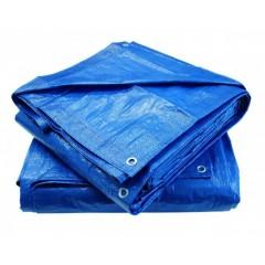 Prelata albastra impermeabila, 4 x 6 m cu inele 175gr/m2