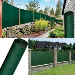 Plasa verde cu grad de umbrire 95% , Latime 1,5 m x Lungime 10m,  Calitate premium, 140 gr/m2