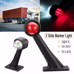 set 2 lampi led pentru gabarit 12v-24v brat de 19 cm