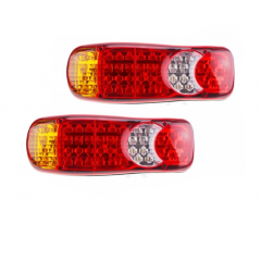 Set 2 lampi led pentru camion/remorca, 12v-24v