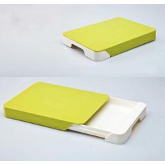 Tocator cu sertar, tava inclusa pentru resturile alimentare