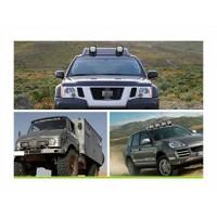 Set 2 proiectoare led auto offroad 48W ,12v-24v, alb 6000k, premium, patrate