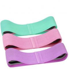 Set 3 benzi elastice, 3 niveluri de rezistenta, saculet inclus