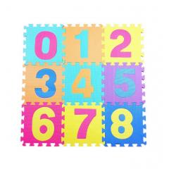 Covoras Puzzle din spuma, multicolor