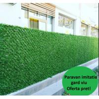 Paravan Imitatie Gard Viu, dimensiuni 1m x 10m