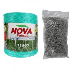 Ata de palisat NOVA + Clips Tomate SET 500 bucati