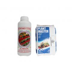 Fertilizant pachet: Ingrasaminte 2Kg + Fertilizant Micromix Combi, 1 litru