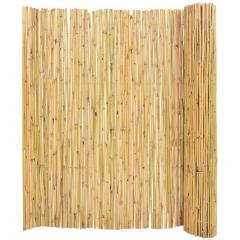 Gard, paravan imitatie  bambus  ( stuf ), 1 m x 6 m, PLANT MASTER