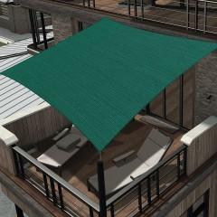 Tesatura/Plasa de umbrire 95%, Plant Master, 1m x 6m, ranforsata, cu orificii de prindere, verde