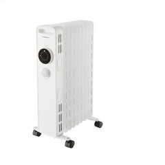 Calorifer electric ulei KUM-1225, 2000W, 9 elementi, 3 trepte putere, termostat reglabil, antiinghet