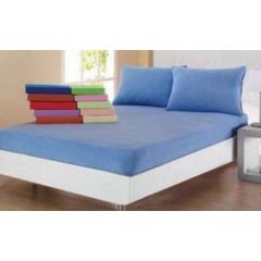 Husa de pat din bumbac 100% cu 2 fete de perna