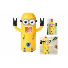 Dozator pasta de dinti si suport periute , pentru copii